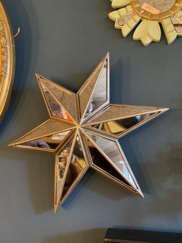 Miroir étoile Cerise Noire