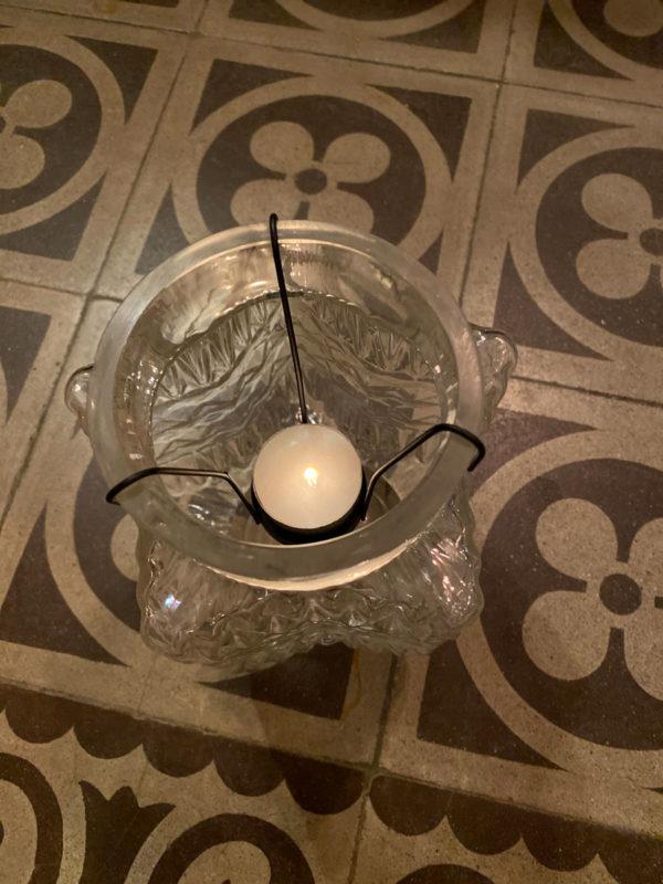 Photophore étoile - Cerise Noire