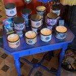 Bougies Hello Candle Cerise Noire