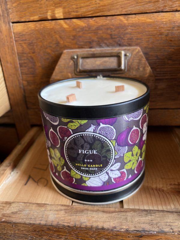 Bougie Figue Hello Candle Cerise Noire