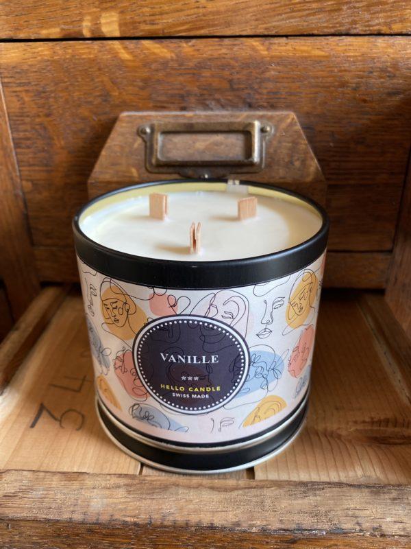 bougie vanille Hello Candle Cerise Noire