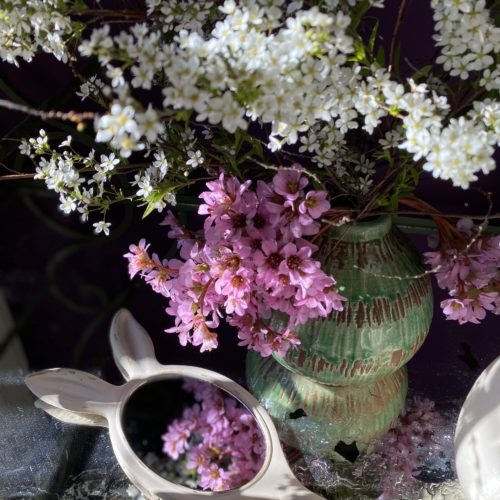 miroir lapin Cerise Noire